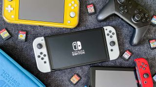 Nintendo Switch OLED, Nintendo Switch, Switch Lite and Switch Pro controller
