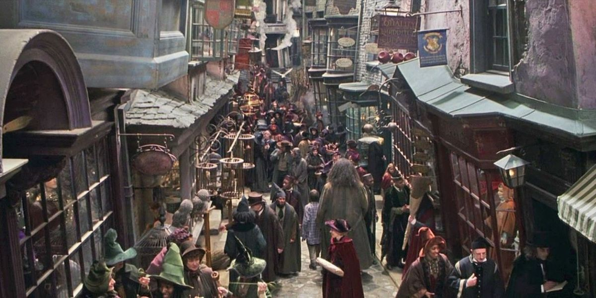 Diagon Alley in the Harry Potter series