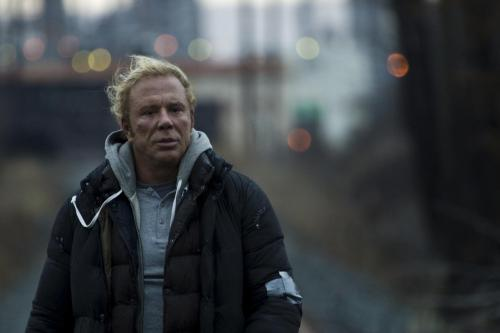 "The Wrestler - Mickey Rourke as washed-up wrestler Randy ""the Ram"" Robinson"