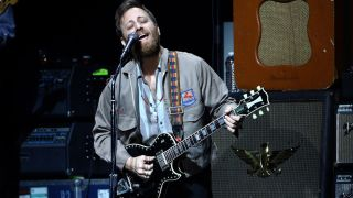 Dan Auerbach of The Black Keys performs onstage at the 2020 iHeartRadio ALTer EGO at The Forum on January 18, 2020 in Inglewood, California.