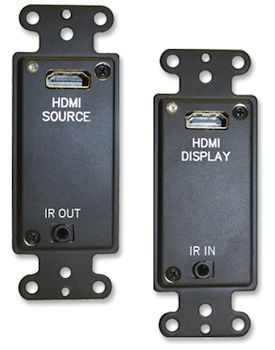 Covid Now Shipping HDBaseT Wall Plates