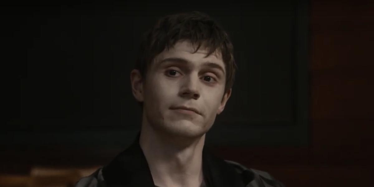 evan peters american horror story double feature premiere screenshot