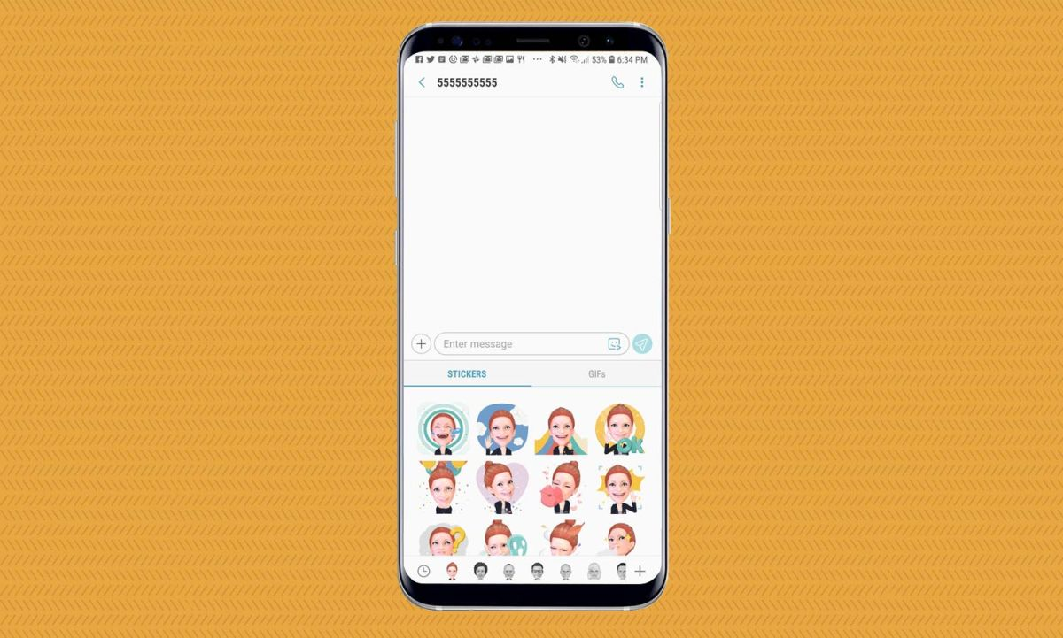 How to Share AR Emoji on the Galaxy S9 - Galaxy S9 User Guide: Tips
