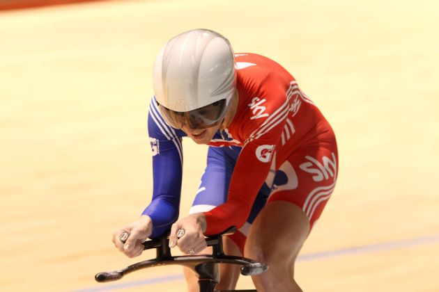 Wendy Houvenaghel, individual pursuit, Track World Championships 2012, day five