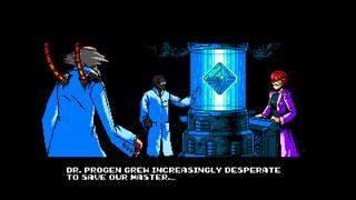 A Cyber Shadow screenshot.