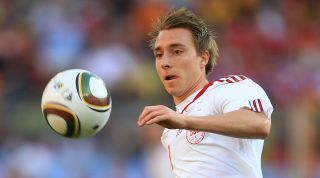 Christian Eriksen youngest player 2010