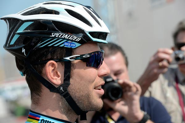 Mark Cavendish, Tour of Qatar 2013, stage one