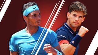 french open live stream tennis final Nadal vs Thiem