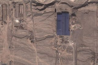 google earth, satellite images, chinese desert