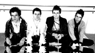 A press shot of Wire in 1977