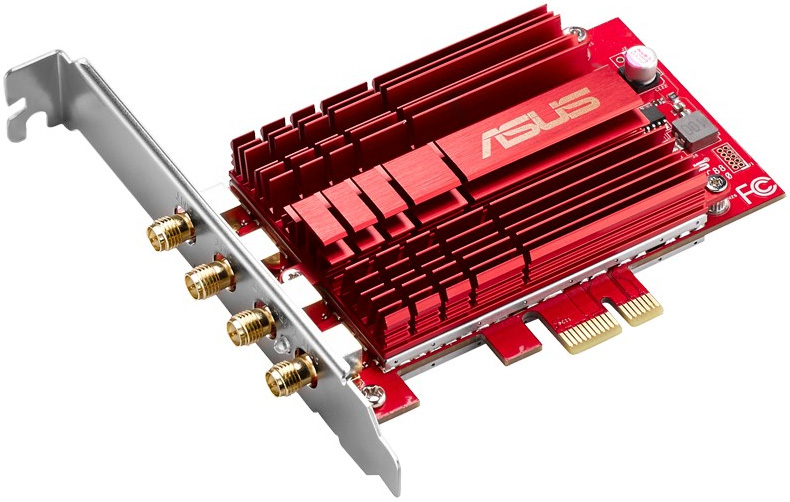 Asus introduces PCE-AC88 4x4 Wi-Fi adapter