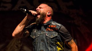A picture of Jesse Leach performing live