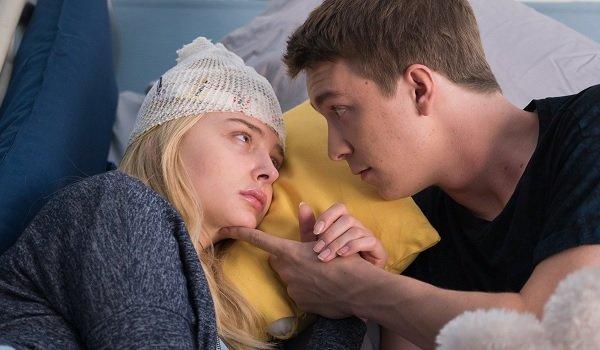 Brain On Fire Chloe Moretz Grace recovering in bed with her boyfriend