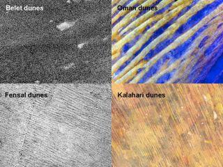 cassini titan dunes