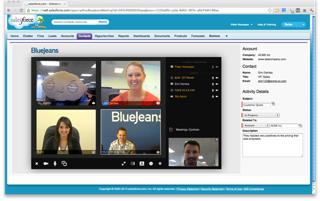 Blue Jeans to Demo Interoperable Video Conferencing at Dreamforce 2012