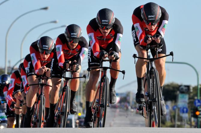 BMC won the team time trial opener at Tirreno-Adriatico