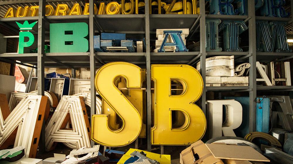 Buchstabenmuseum typography models