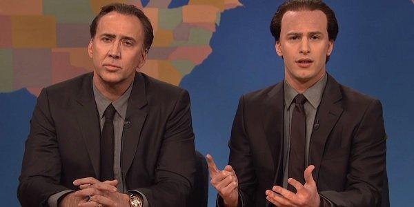 Nicolas Cage Andy Samberg Saturday Night Live NBC