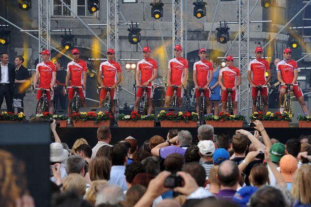 Cofidis, Tour de France 2012 presentation