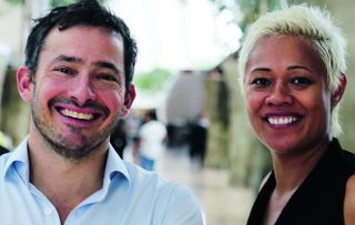 Giles Coren and Monica Galetti have landed a pretty plum job with this series about the logistics of running the world's most incredible hotels.