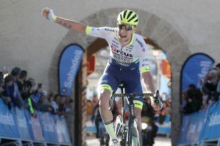 Cycling: Murcia Tour / Vuelta Murcia / Etapa 1 / Stage 1 / ARRIVAL / LLEGADA / MEURISSE, Xandro (BEL) / Los Alcázares - Caravaca De la Cruz (177,6 Km) 14-02-2020/ Cycling: Murcia Tour / Vuelta Murcia / Etapa 1 / Stage 1 / Luis Angel Gomez ©PHOTOGOMEZSPORT2020