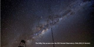 MIlky Way over ESO Paranal Observatory