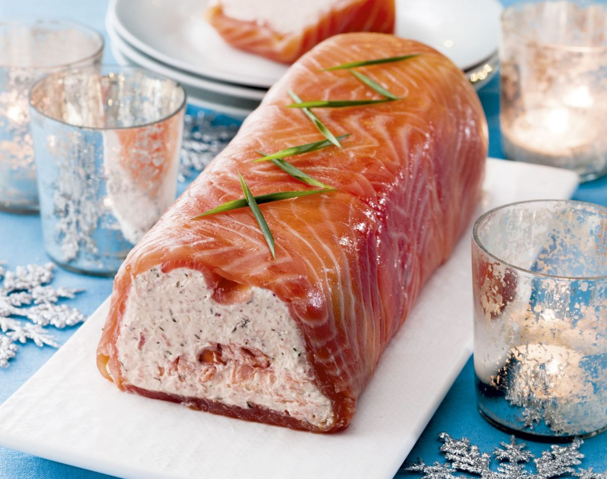 Treat yourself this Christmas with an elegant smoked salmon terrine