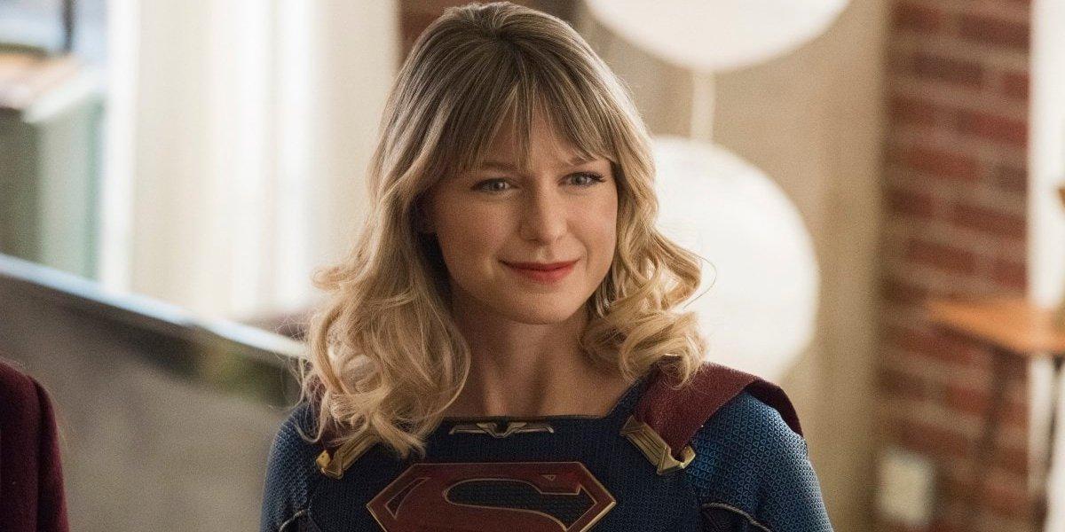 Melissa Benoist on Supergirl
