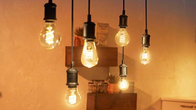 Philips Hue Edison bulbs