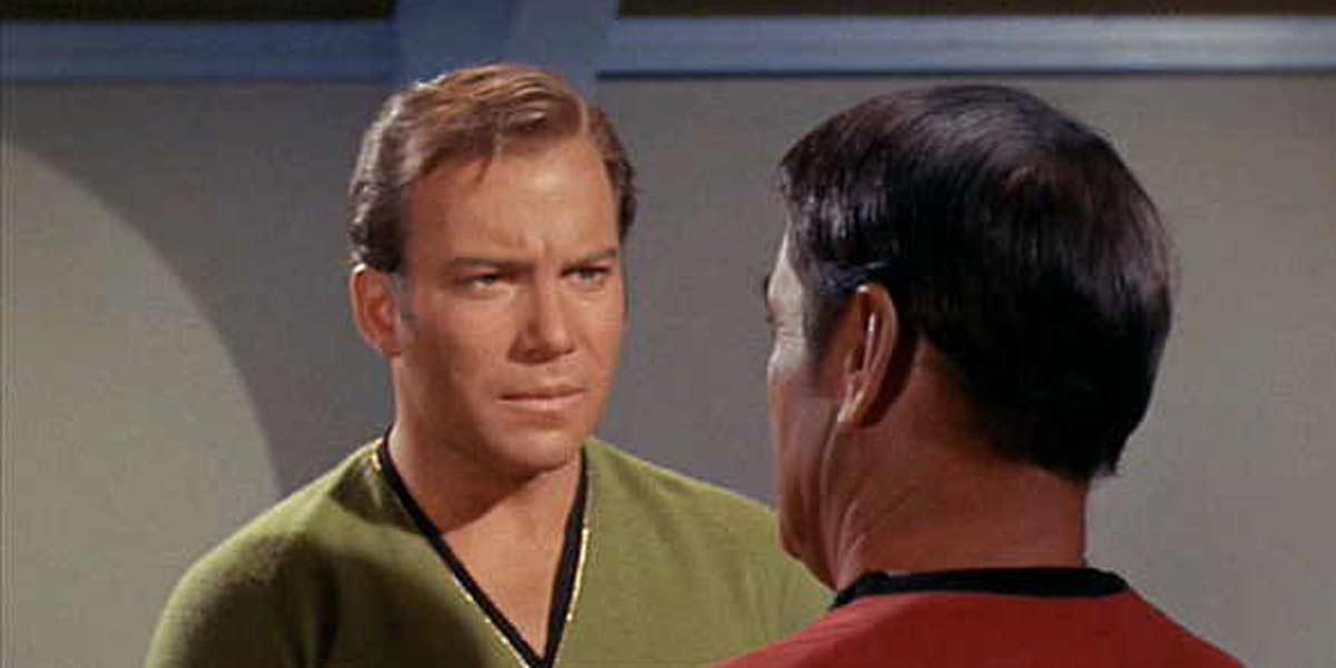 William Shatner Star Trek screenshot taken 2020
