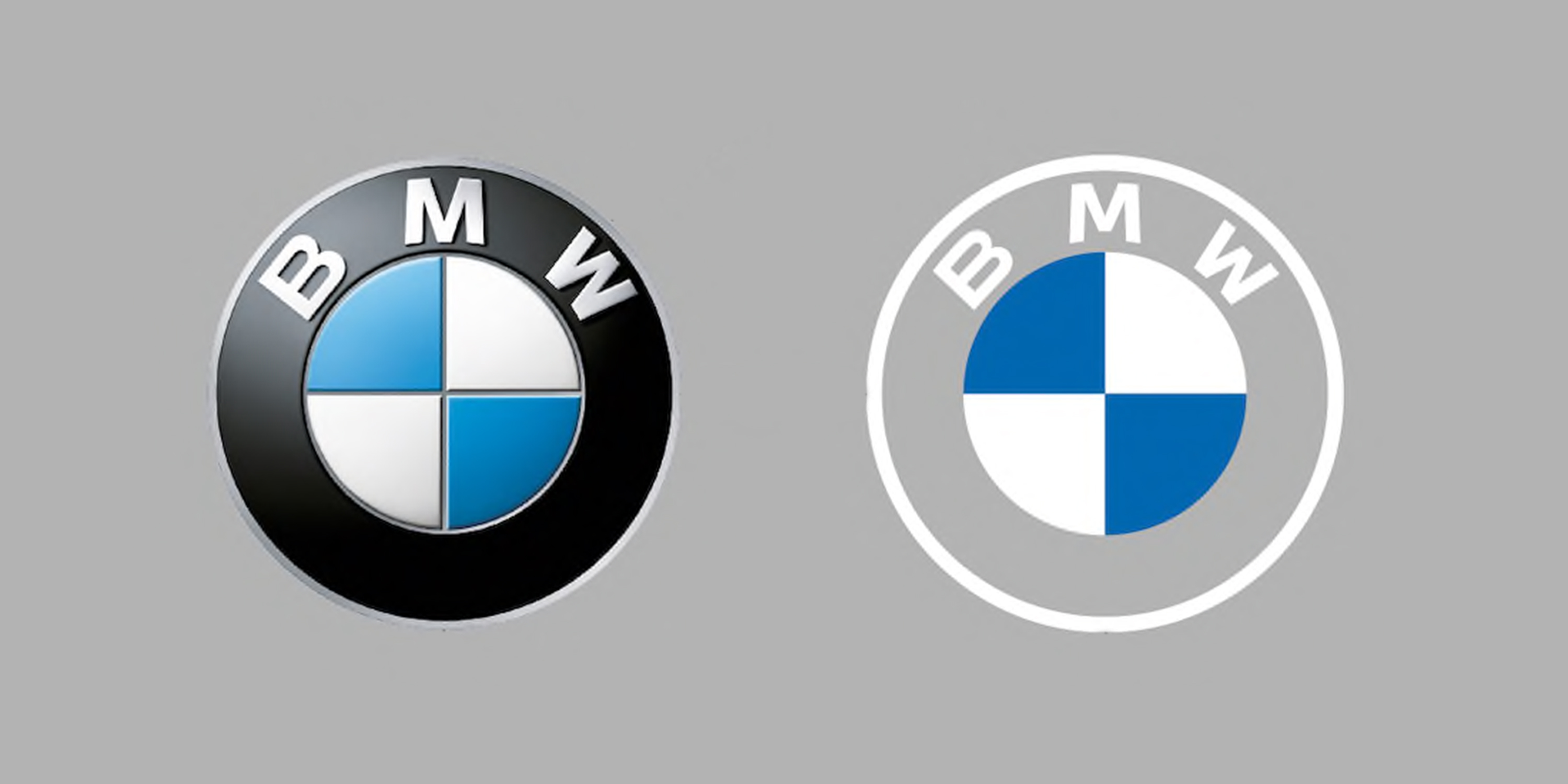 Bmw Gets Most Radical Logo Change In Over 100 Years Creative Bloq