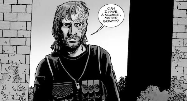 dwight walking dead comic mister grimes