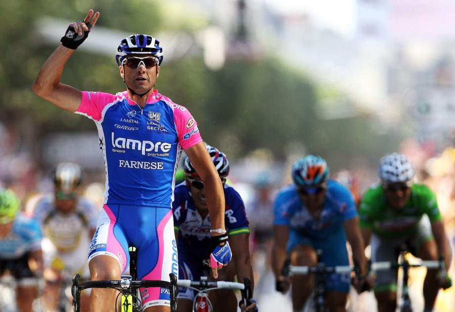 Alessandro Petacchi given two-year doping ban and results disqaulified