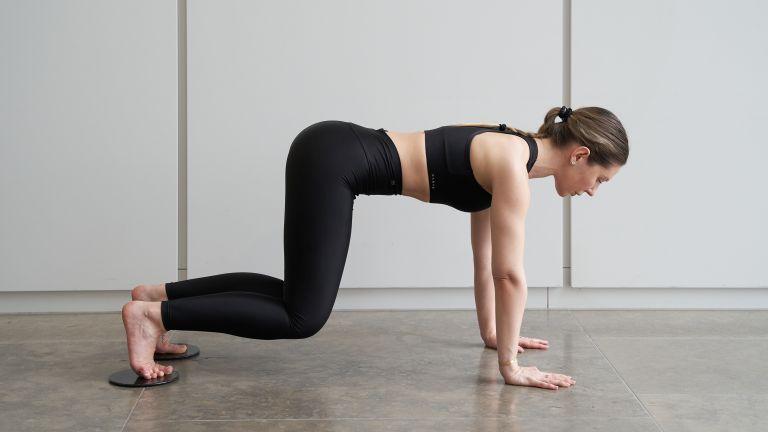 Karve trainer workout with sliders