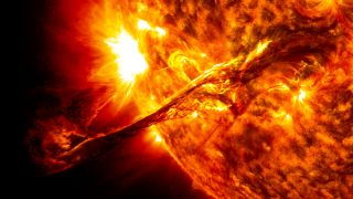 A Coronal Mass Ejection From The Sun