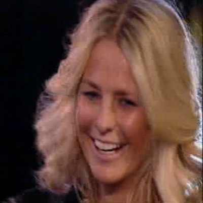And last but not least, Ulrika Jonsson made her way into the house