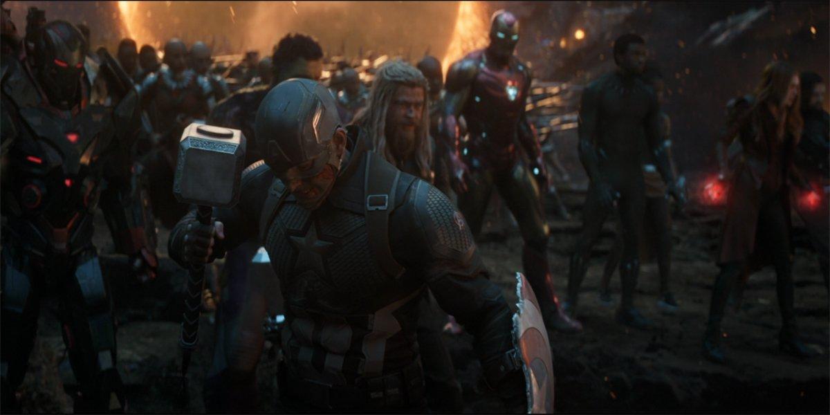 Captain America Avengers Assemble Avengers Endgame