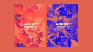 Two flyer designs for Jamie Roy Junior G