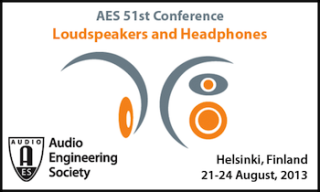 51st International AES Conference to Focus on Loudspeakers and Headphones