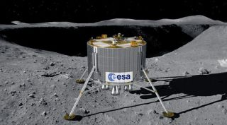 New Robot Moon Landing Idea Studied in Europe