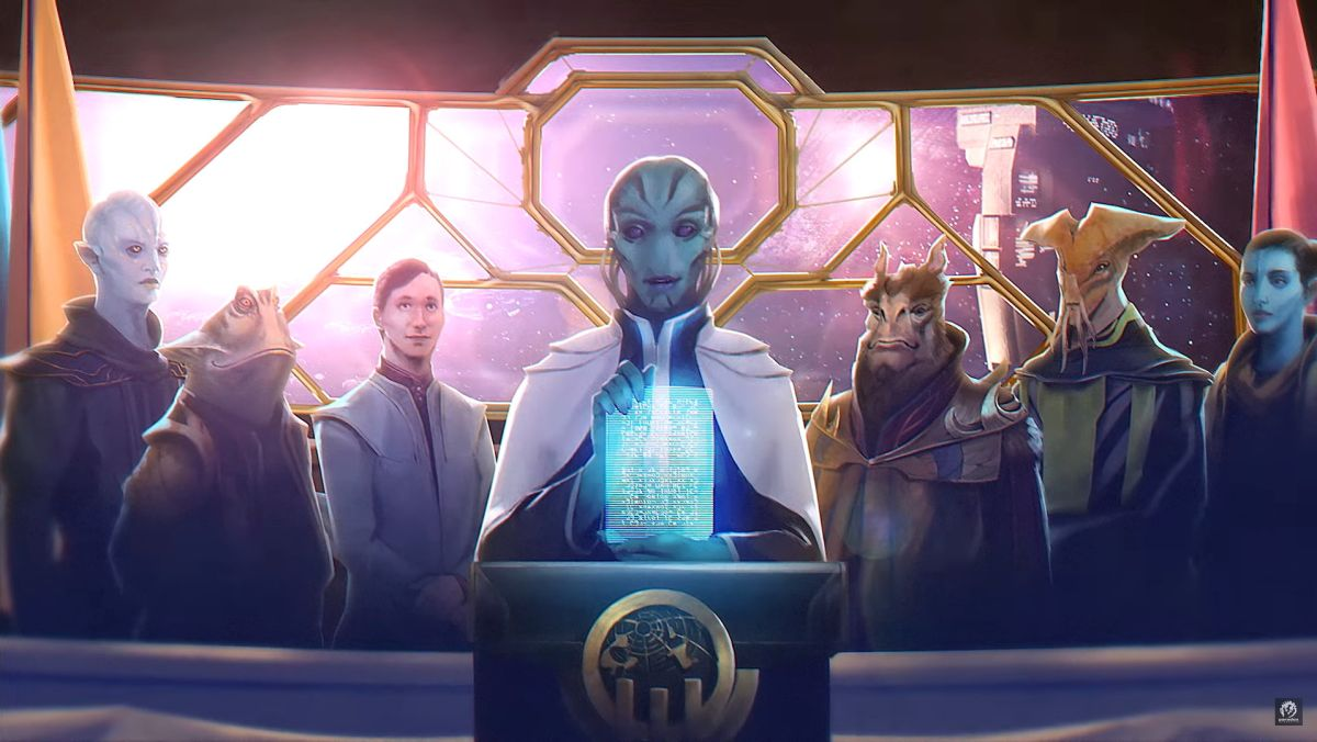 Stellaris: Federations announced, expanding space diplomacy