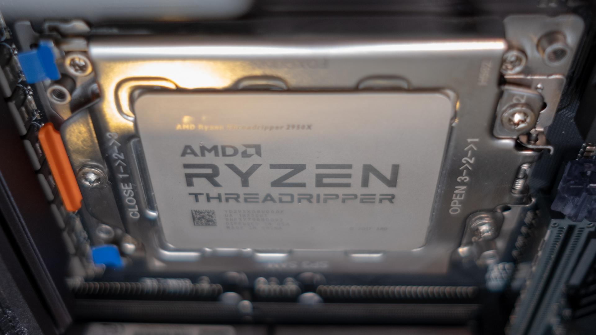 Threadripper 3990x ryzen amd