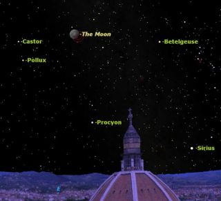 Partial Lunar Eclipse and Blue Moon New Year's Eve | Space  Partial Lunar E...
