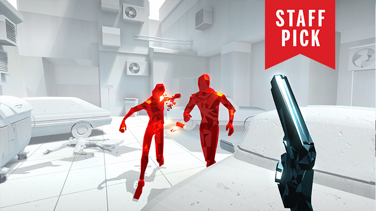 Superhot is one of the most empowering FPSes ever