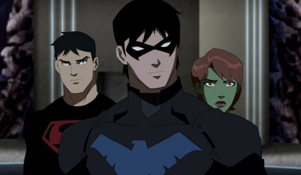 Young justice nightwing superboy miss martian