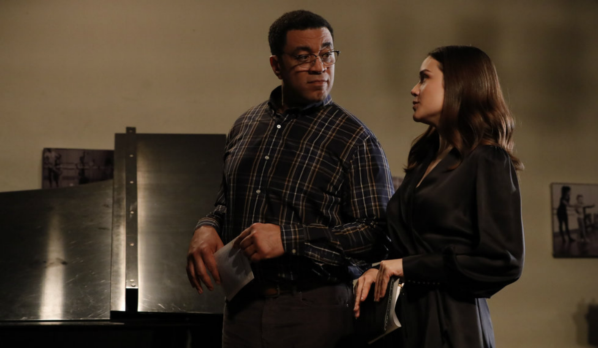 The Blacklist Harold Cooper Harry Lennix Elizabeth Liz Keen Megan Boone NBC