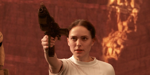 Padme in the battle of Genosis