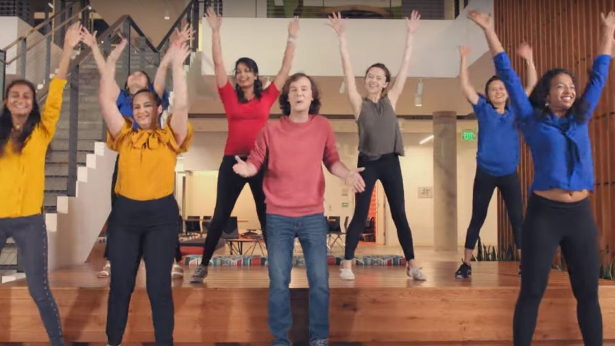 Microsoft the Musical is a bizarre commercial made by