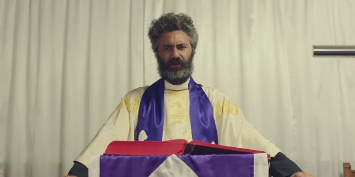Taika Waititi in Hunt for the Wilderpeople
