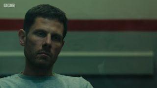 Lee Banks after his arrest in Line of Duty season 5.
